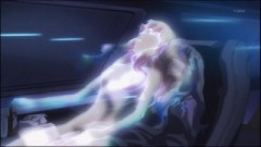 The First Half Is Somewhat Of A Recap Macross Frontier With Mysterious Entities Discussing Among Themselves What Has Happened So Far