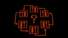 Six rooms forming a composite locked room mystery